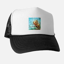 Cute Chameleon Trucker Hat