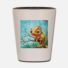 Cute Chameleon Shot Glass