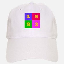 1993 Years Designs Baseball Baseball Cap