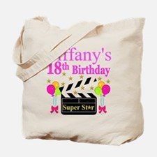 PERSONALIZED 18TH Tote Bag
