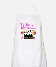 PERSONALIZED 18TH Apron