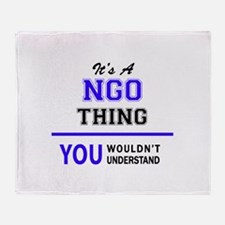 It's NGO thing, you wouldn't underst Throw Blanket