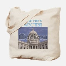 Madison, the left coast of Wisconsin Tote Bag
