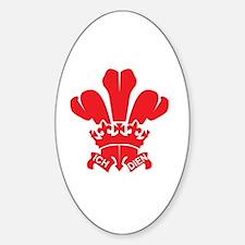 Funny Wales saint david Decal
