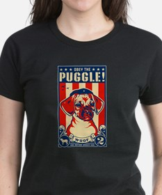 Obey the PUGGLE! Ash Grey T-Shirt