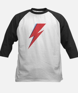Ziggy Stardust - Lightning - On Black Star Basebal