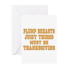 Thanksgiving Fun Greeting Card