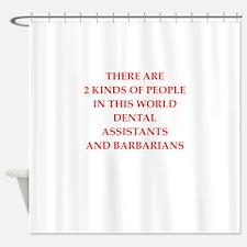 dental Shower Curtain