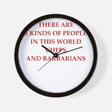 Job joke Wall Clock