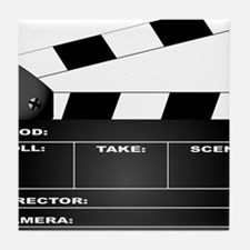 Cute Film production Tile Coaster