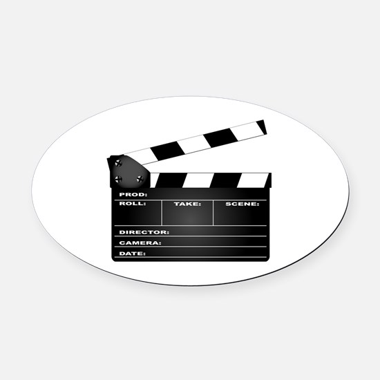 Cute Film Oval Car Magnet
