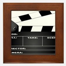 Cute Producer Framed Tile