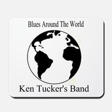 Ken Tucker Blues Around the World Mousepad