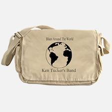 Ken Tucker Blues Around the World Messenger Bag