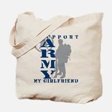 I Support Girlfriend 2 - ARMY Tote Bag