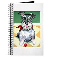 Schnauzer & Red Ball Journal