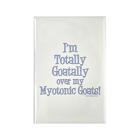 Myotonic Goats Goatally Rectangle Magnet (100 pack