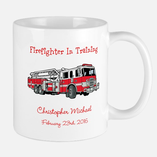 Firefighter in Training Mugs