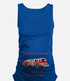 Firefighter In Training Maternity Tank Top