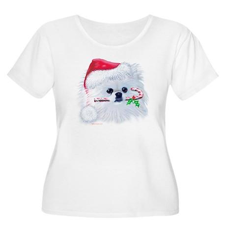 Trish's Pomeranian Christmas Women's Plus Scoop