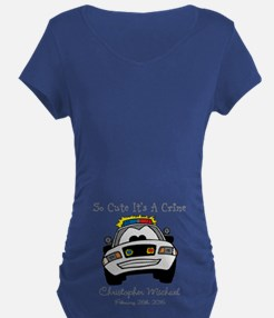 So Cute Its A Crime Maternity T-Shirt