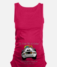 So Cute Its A Crime Maternity Tank Top
