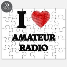 I Love Amateur Radio Puzzle