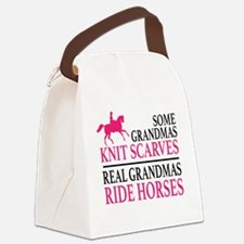 Cool Horses Canvas Lunch Bag