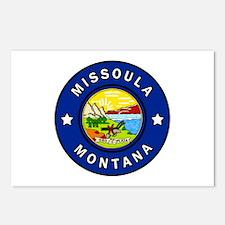 Missoula Montana Postcards (Package of 8)