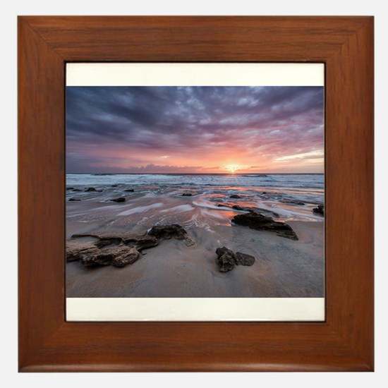 Glorious in St. Augustine Framed Tile