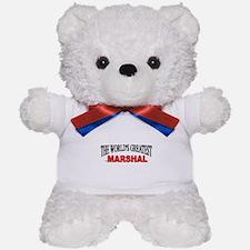 """""""The World's Greatest Marshal"""" Teddy Bear"""