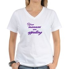 Your Manners Are Appalling Shirt