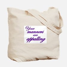Twice the value, twice the scathing wit Tote Bag