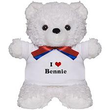 I Love Bennie Teddy Bear