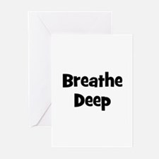 Breathe Deep Greeting Cards (Pk of 10)