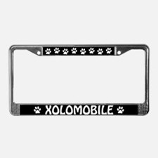"Xoloitzcuintli ""Xolomobile"" License Plate Frame"