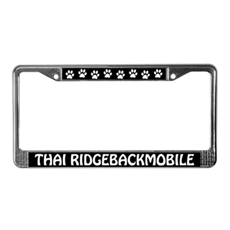 Thai Ridgebackmobile License Plate Frame