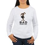 Bad Hare Day Women's Long Sleeve T-Shirt
