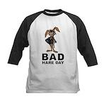 Bad Hare Day Kids Baseball Jersey