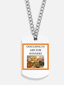 winning doughnut Dog Tags