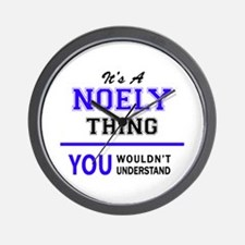 It's NOELY thing, you wouldn't understa Wall Clock