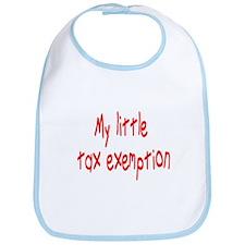 MY LITTLE TAX EXEMPTION Bib