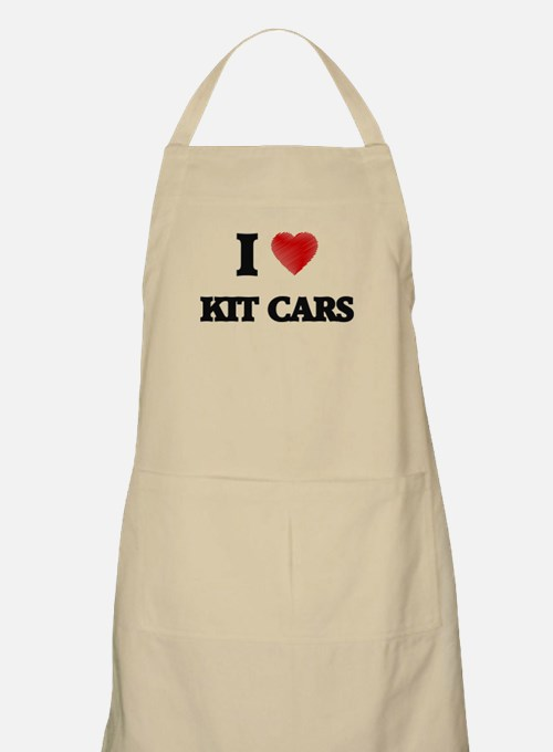 I Love Kit Cars Apron