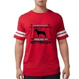 Rottweiler Mens Football Shirts