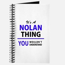 It's NOLAN thing, you wouldn't understand Journal