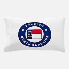 Raleigh North Carolina Pillow Case