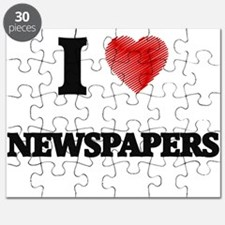 I Love Newspapers Puzzle