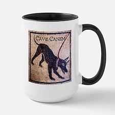 """""""Cave Canem"""" Large Mug"""