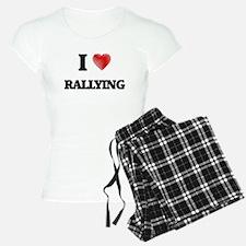 I Love Rallying Pajamas