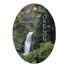 Oregon - Multnomah Oval Ornament